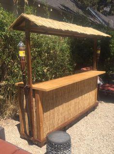 Pool Bar, Outdoor Tiki Bar, Outdoor Garden Bar, Outdoor Pergola, Tikki Bar, Bar Shed, Tiki Bar Decor, Outside Bars, Tiki Hut