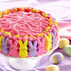Hippity Hop Easter Bunny Cake - Holiday Cottage