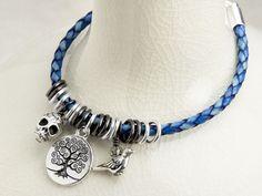 Free Ideas: Artbeads.com - Katie's Bolo Leather Bracelet