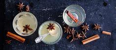 Ginger alesta ja kuivasta omenasiideristä valmistetun glögin voit tarjota kuumana tai kylmänä. N. 2,10€/annos. Ginger Ale, Christmas, Recipes, Foods, Xmas, Food Food, Food Items, Recipies, Navidad