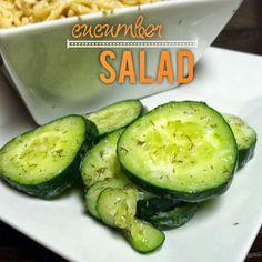 Lou  Lou  girls : Cucumber Salad