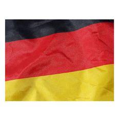 Deutschland Fahne mit Holzstab