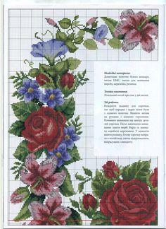 Квітуча краса вишиванки 2 схема 2