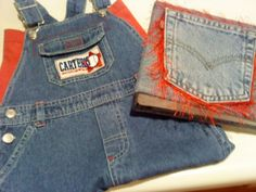 How to Make a Recycled Denim Bag by Repurposing Children's Overalls - Recycled Craft