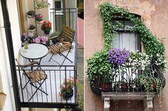 Inspiration: balkonger