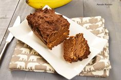 Chocolate Peanut Butter Banana Bread - Low fat, vegan, gluten free, packed with protein and fiber to start your day the right way or have as a healthy dessert! Each slice has 130 calories, 8 grams of protein