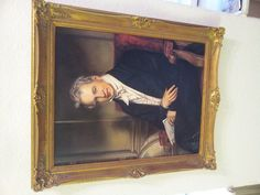 Humboldt baroque frame canvas on wood 45 x 55 original copy Price 999 €