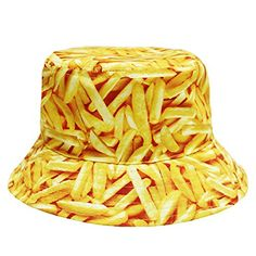 3a720460be1 City Hunter Bd1950 Food Bucket Hat - Fries