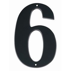 Alno House Number by Alno. $18.85. Size:7', House Number:6, Finish:Bronze. Save 24% Off!