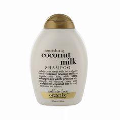 Rank & Style Top Ten Lists | Organix Nourishing Coconut Milk Shampoo #rankandstyle #allnatural #organic