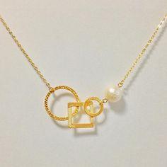 Alloy chain necklace designed by Pandahall customer  片村 恵理子 from LC.Pandahall.com   #pandahall