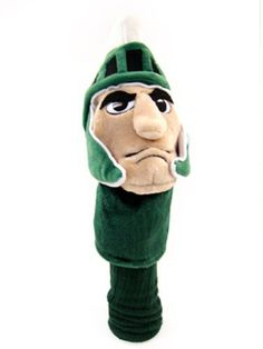 NCAA Michigan State University Team Mascot Head Cover by Team Golf. $31.04. Proudly show off your school spirit when you use this officially licensed NCAA® team mascot headcover from Team Golf. The cover features a plush team mascot and fits most oversized drivers.
