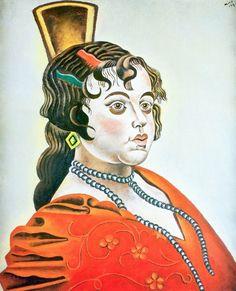 Joan Miro - La danseuse espagnole - 1921                                                                                                                                                                                 Plus