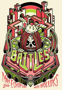 Battles + Holloys @ Echoplex, Los Angeles, CA, USA (May 2nd 2011) by Ivan Minsloff