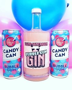 Shimmer Bubble Gum Gin 💙 YOUNG GENERATION GIN ⭐ POWERED BY MARCO WOKATSCH 🥳  💙 Taste it now
