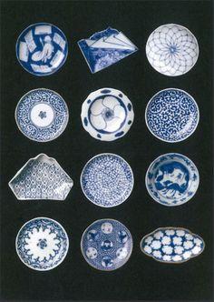 "sexyceramics: "" Japanese small plates, mame-sara 豆皿 Found on shinise.ne.jp """