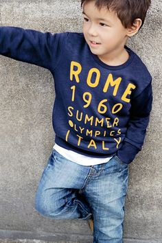 Zara...my new find for cool boys clothing. Check them out. Prices are reasonable too!