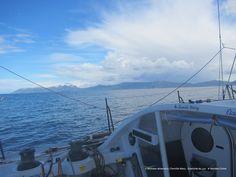 Photo sent from the boat Famille Mary - Etamine du Lys, on January 21st, 2017 Romain Attanasio Photo envoyée depuis le bateau Famille Mary - Etamine du Lys le 21 Janvier 2017