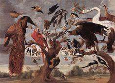 The Mockery of the Owl  by Jan van Kessel  Koninklijk Museum voor Schone Kunsten, Antwerp