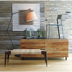 Because nothing is more practical than putting a chair on top of a dresser  junction low dresser in view all furniture   CB2