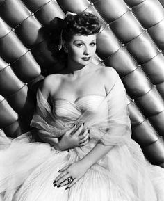 Lucille Ball for ' Du Barry Was a Lady' (1943) The first outfit we see Lucille wear is a bright red two piece gown that exposes the midriff. Description from pinterest.com. I searched for this on bing.com/images