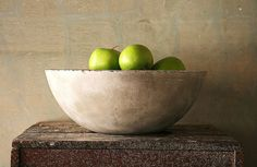 DIY - give it a try. #fruitbowl #concrete