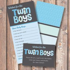 60 Best Twin Boys Baby Shower Images Gifts Baby Shower Parties