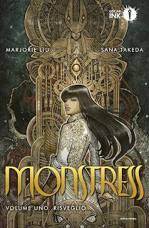 """La libreria di Luce: Anteprima """"Monstress. Il Risveglio"""" di Marjorie Li..."""