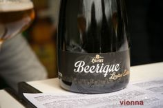 Discovery of the day: Hirter Beerique at the festival in May 2014 Craft Beer Fest, Slow Travel, Vienna Austria, Discovery, 18th, Wine, Drinks, Bottle, Drinking