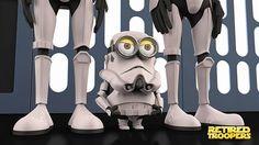 Despicable Me Minions Dressed Up as Pop Culture Characters 13 Les Minions se déguisent en personnages célèbres
