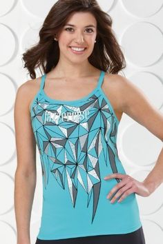 49a953273b902 Stained Glass Foil Print Cami - KOS USA   Sale
