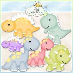 Baby Dinos 1 - Exclusive Clip Art