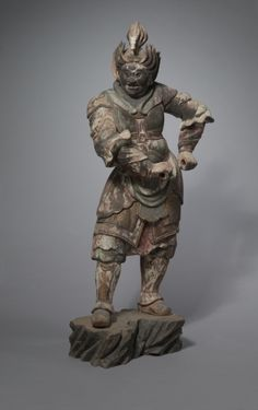 A Heavenly General (One of the Junishinsho) | A Heavenly General (One of the Junishinsho), 13th century      Japan, Kamakura Period (1185-1333)