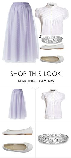 """""""Без названия #876"""" by sabina-127 ❤ liked on Polyvore featuring RED Valentino, Pilot, DIENNEG and Effy Jewelry"""