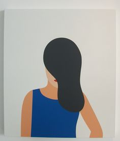 MY HEAD DISAPPEARS WHEN MY HANDS ARE THINKING Geoff McFetridge showing at Heath Ceramics - what a wonderful way to describe being lost in one's artistic process!
