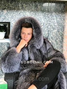 100+ Men's Big Fur Coats images in 2020