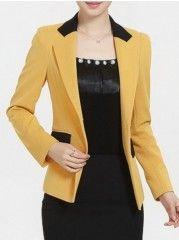 Elegant Lapel Assorted Colors Blazers