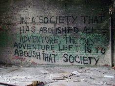 Abolish that society**