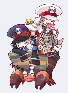 by ネム Pokemon Ships, Cute Pokemon, Pokemon Fan, Black Pokemon, Cute Comics, Catch Em All, Hetalia, Masters, Manga Anime