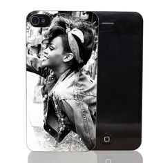 rihanna black and white Style Transparent Case Cover for iPhone 4 4s 5 5s 5c 6 6s plus 7 7 Plus