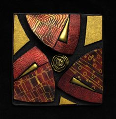 FIMO 50 World project tile from Helen Breil, Canada