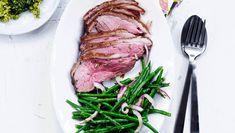 Kalveculotte med bønnesalat og bulgur med pesto | femina.dk Steak, Low Carb, Pesto, Food, Bulgur, Meals, Steaks, Beef