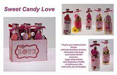 Candy Filled Soda Bottles