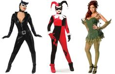 Catwoman, Harley Quinn and Poison Ivy