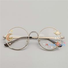Online Shop Hand made the original lolita soft sister sweet Japanese harajuku girls round box cherry blossom put glasses cos who gay men Kawaii Accessories, Kawaii Jewelry, Cute Jewelry, Costume Accessories, Fashion Accessories, Lunette Style, Accesorios Casual, Japanese Harajuku, Cool Glasses