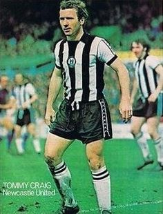 Tommy Craig Newcastle United 1977 Newcastle United Fc, Black N White, Army, The Unit, Punk, Football, Running, Sports, Style