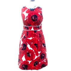 "🌹Host Pick NWOT Ann Taylor Poppy Dress Size 2 🌹 Host Pick for the Jet-Set Party 6-27-16 Chosen by Holly @mrshljones ❤️ Host Pick for the Style Staples Party 4-8-16 Chosen by @my_boutique ❤️ NWOT Ann Taylor Poppy Dress Size 2. Fully Lined. Materials: Shell is 100% Cotton, Lining is 100% Polyester. Machine Wash Cold. Mannequin is a 36-24-36. Measurements laying flat: Bust:  17"", Length: 37"", Hip 19.5"". 🚫NO TRADES AND PRICE IS FIRM🚫 Ann Taylor Dresses Midi"
