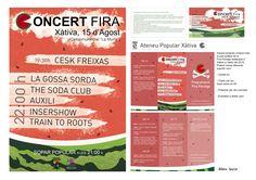 """Soportes campaña """"Fira Ferotge 2015"""""""
