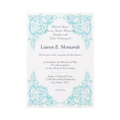Shop Corner Flourish Wedding Invitation (Chartreuse) created by Personalize it with photos & text or purchase as is! Tiffany Blue Invitations, Blue Wedding Invitations, Custom Invitations, Invites, Garden Wedding, Diy Wedding, Dream Wedding, Wedding Day, Colored Envelopes