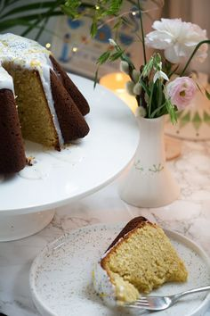 Marzipan, Danishes, Food Cakes, Vanilla Cake, Cake Recipes, Good Food, Kenya, Baking, Sweet